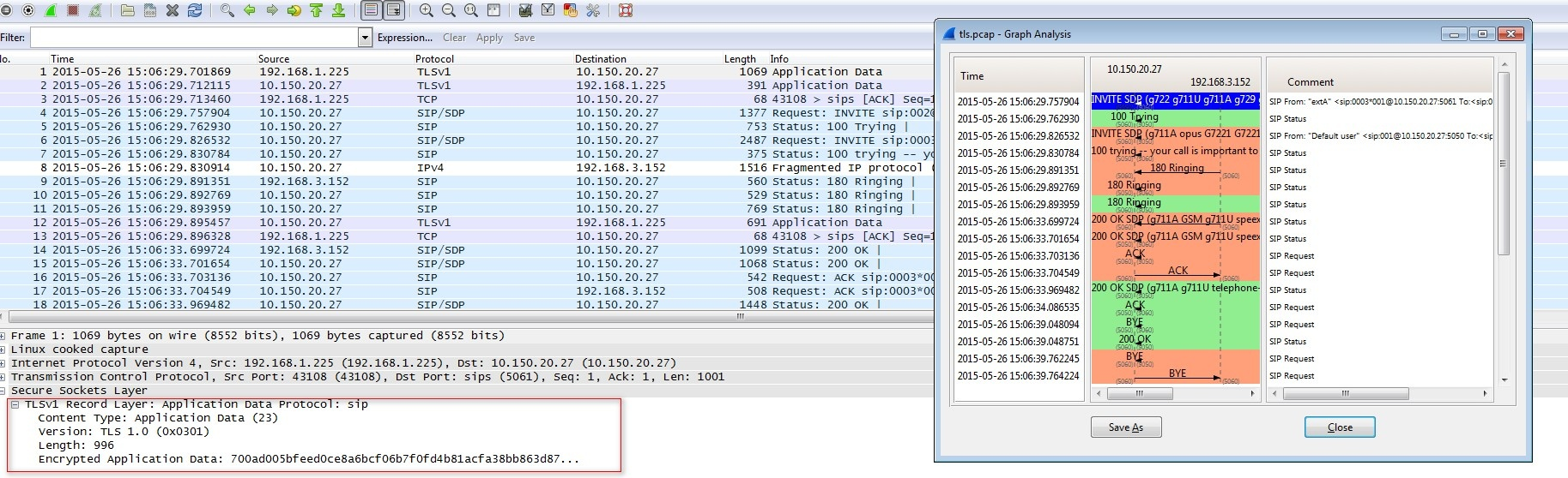 How to decode SIP over TLS with Wireshark - 4PSA Knowledge Base